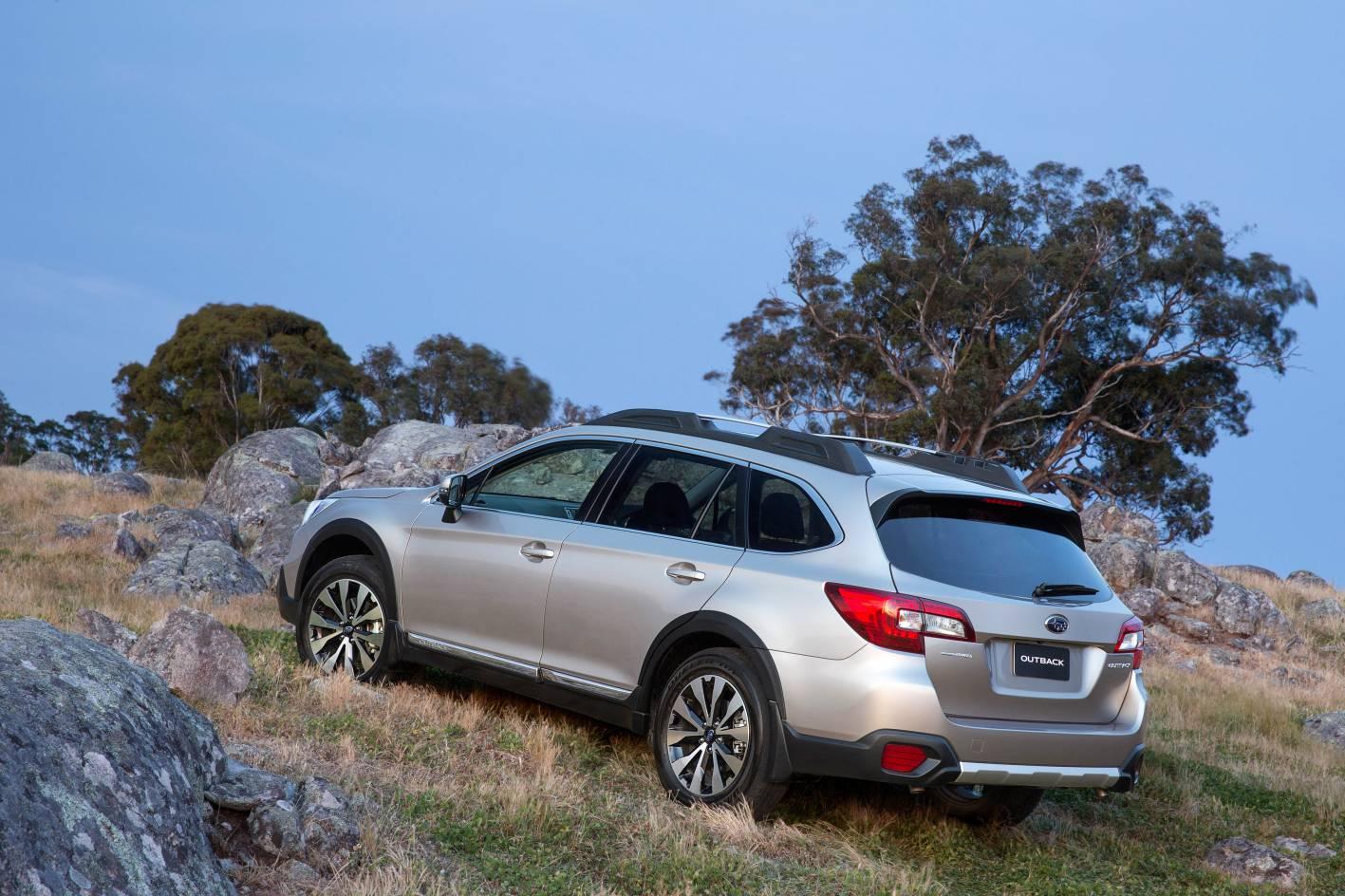 Subaru Cars - News: 2015 Subaru Outback on sale from $35,990