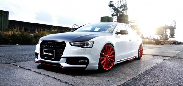 Audi A5 Sportback Sportline by Wald front quarter
