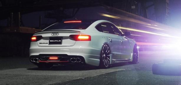 Audi A5 Sportback Sportline by Wald rear quarter-1