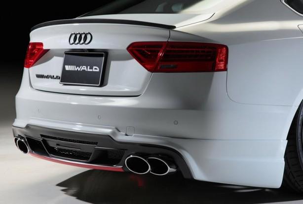 Audi A5 Sportback Sportline by Wald rear skirt