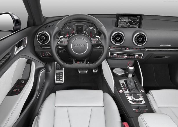 Audi RS3 Sportback interior