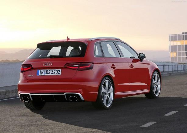 Audi RS3 Sportback rear quarter