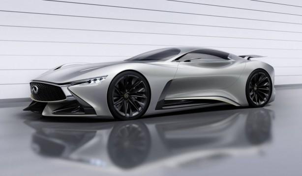 Infiniti Concept Vision Gran Turismo front quarter