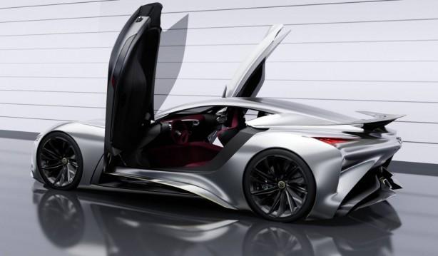 Infiniti Concept Vision Gran Turismo rear quarter