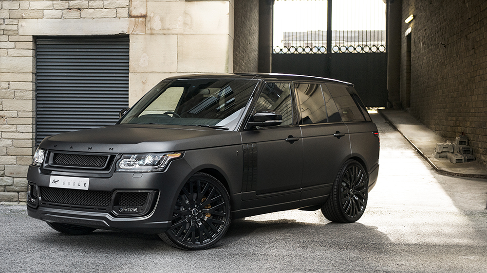 Range Rover Tuning - Kahn Design pimps up RR with two ...