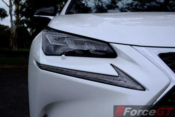 2014 Lexus NX 300h LED headlight