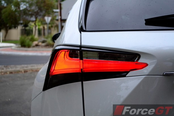 2014 Lexus NX 300h LED taillight