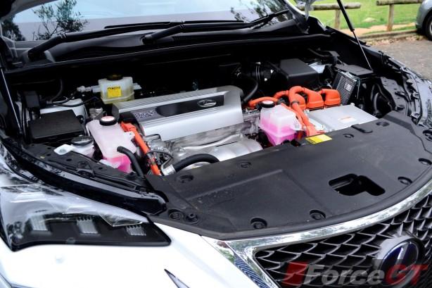 2014 Lexus NX 300h engine
