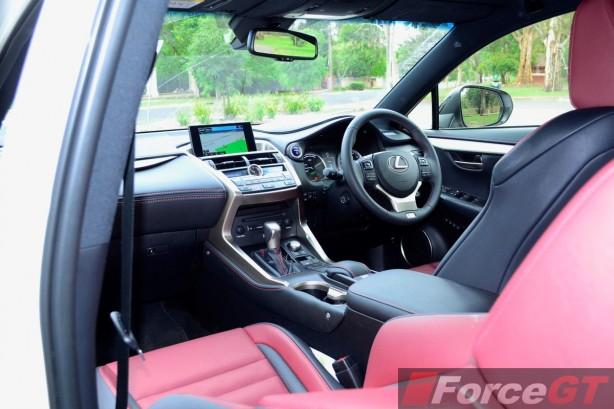2014 Lexus NX 300h interior
