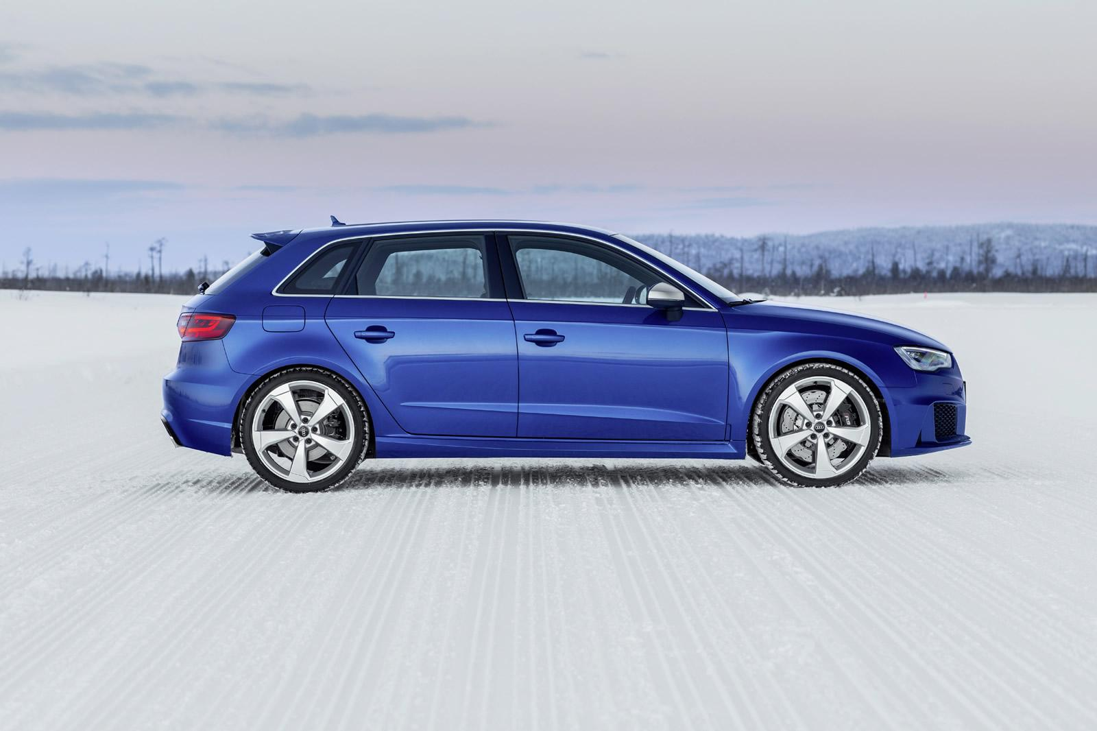 Audi Cars - News: Audi showcases RS3 Sportback in Sepang Blue