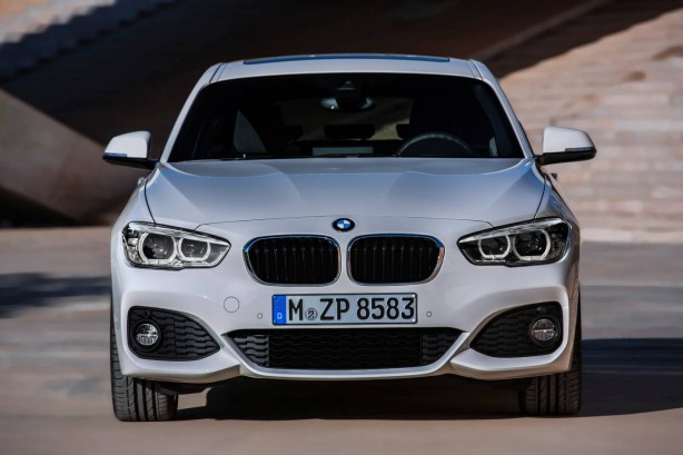 2015 BMW 1 Series front