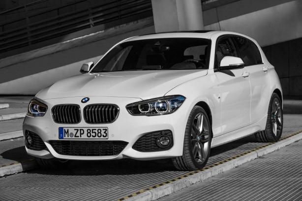 2015 BMW 1 Series front quarter