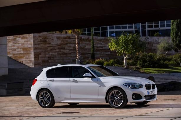 2015 BMW 1 Series side