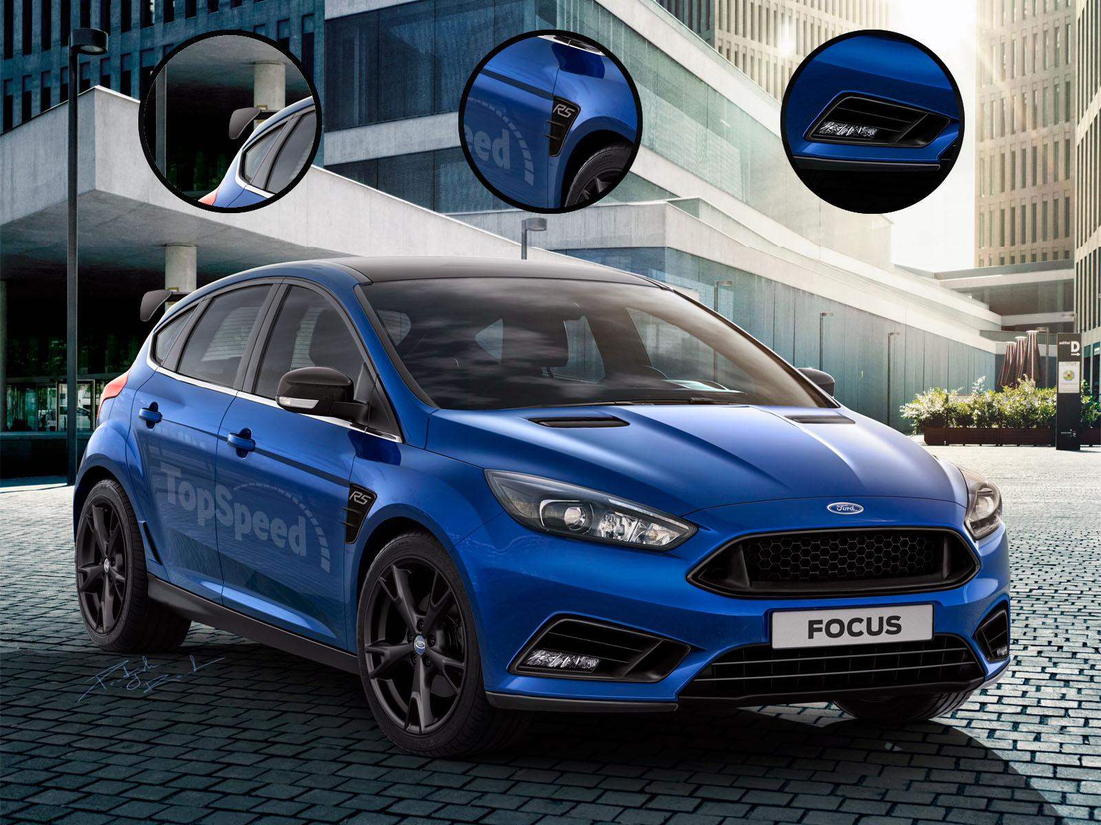 ford cars news  focus rs rendered