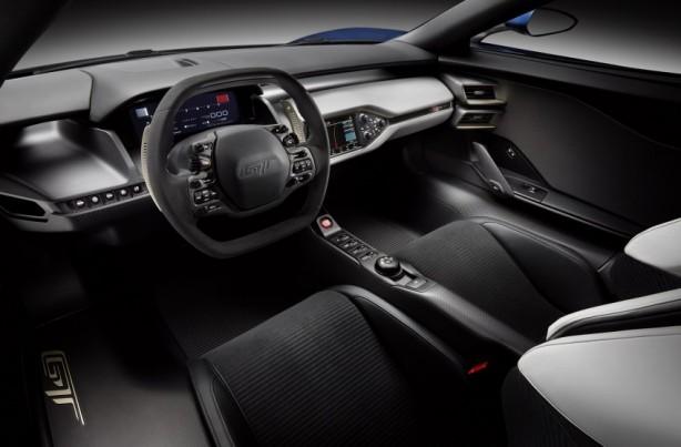 2015 Ford GT interior