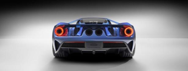 2015 Ford GT rear