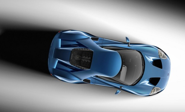 2015 Ford GT top