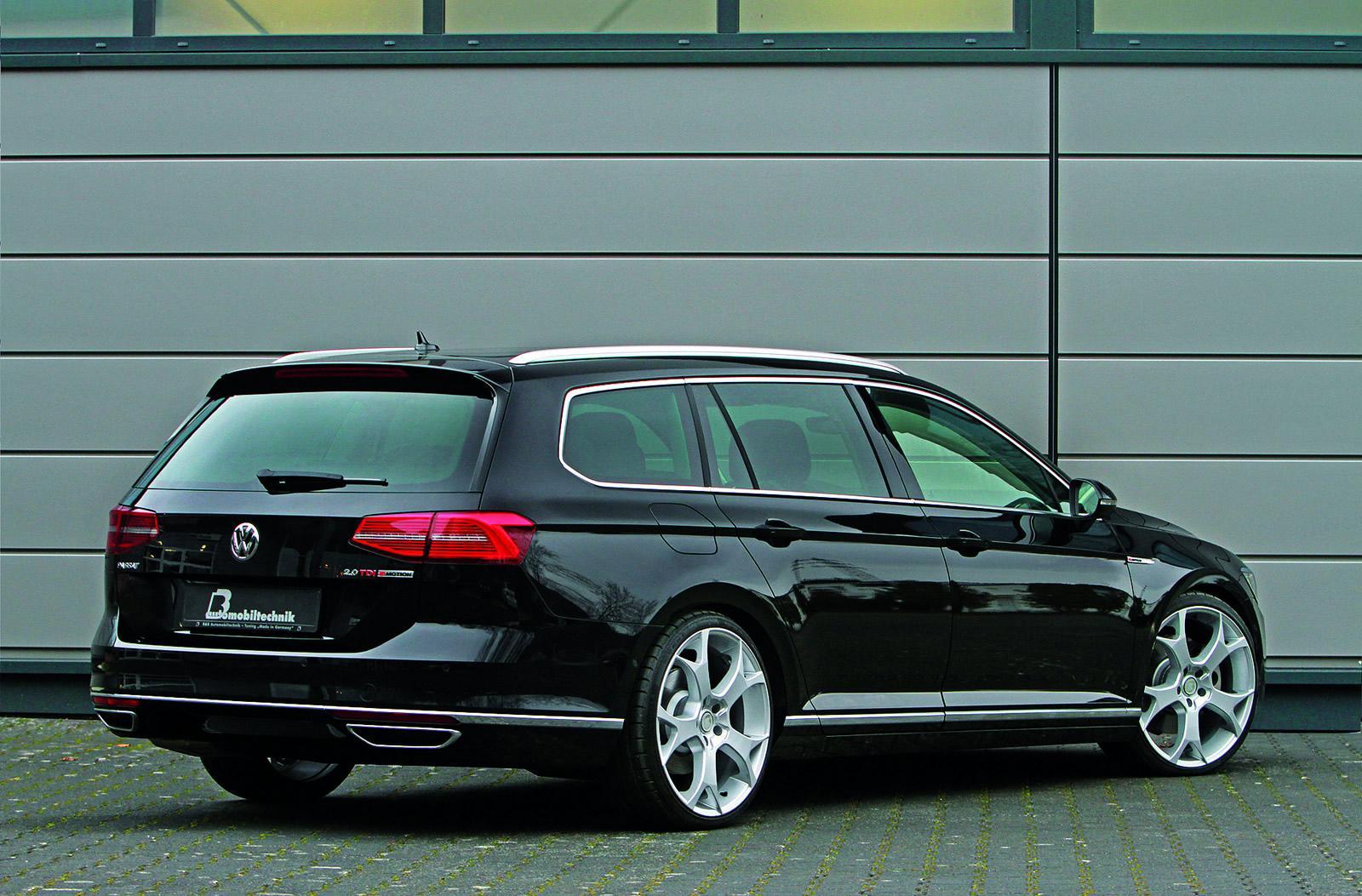 Volkswagen Tuning 2015 Passat Variant Tuned By B Amp B