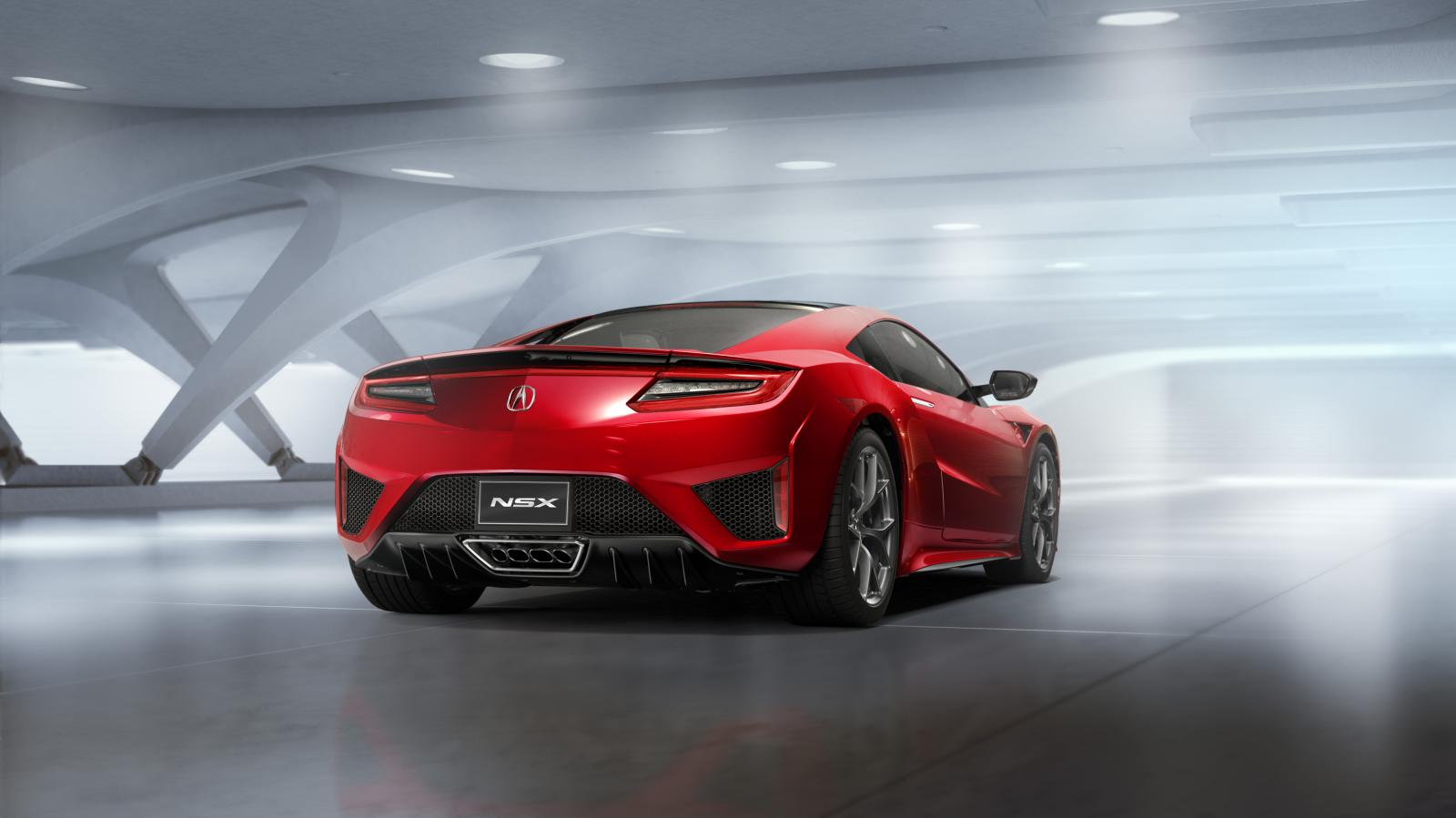 Acura Nsx Production Model Rear Quarter