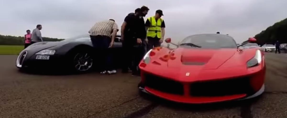 Bugatti Veyron vs LaFerrari in epic drag race [video] - ForceGT.com