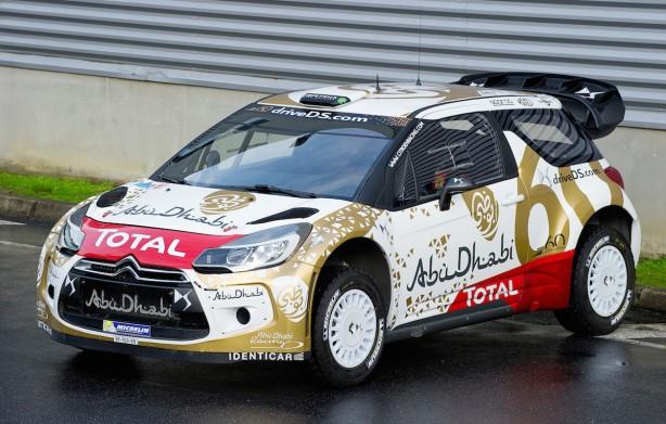 Citroen DS3 WRC front quarter