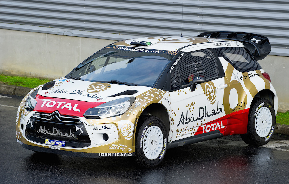 Citroën Racing: 2015 Citroën DS3 WRC gets new livery