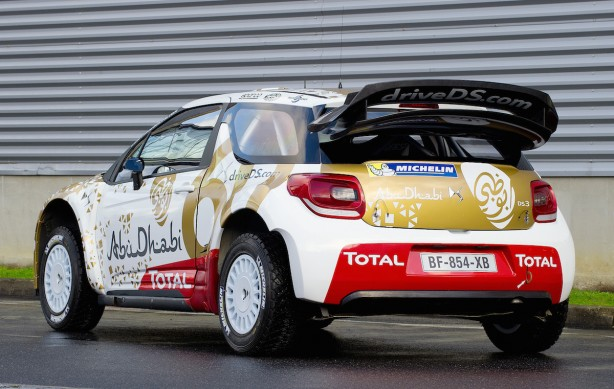 Citroen DS3 WRC rear quarter