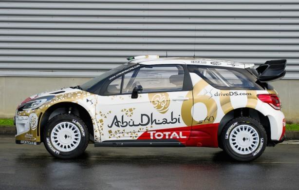 Citroen DS3 WRC side