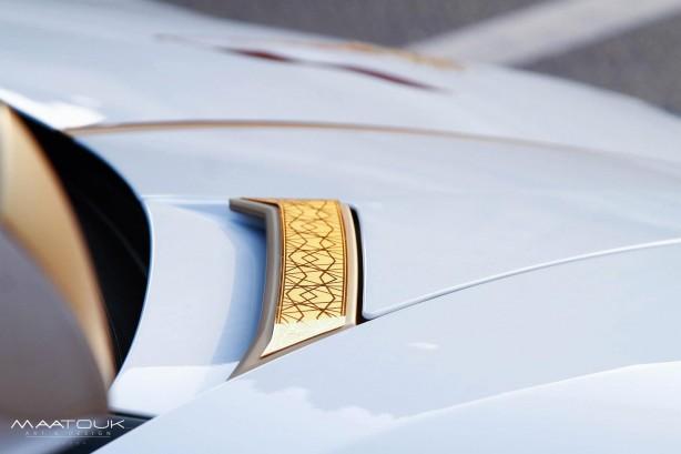 Lamborghini Aventador LP700-4 by Maatouk Design bonnet vent