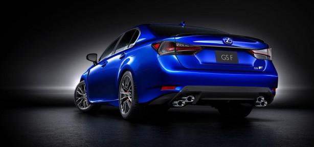 Lexus GS F rear quarter-1