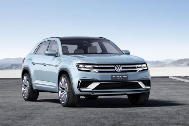 Volkswagen Cross Coupe GTE concept front quarter