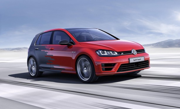 Volkswagen Golf R Touch concept front quarter