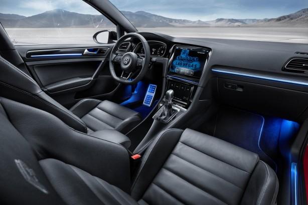 Volkswagen Golf R Touch concept interior