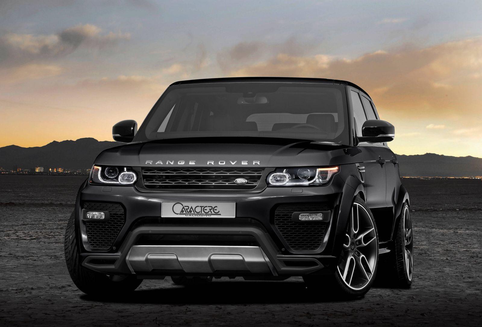 Caractere Exclusive Tweaks Range Rover Sport Forcegt Com