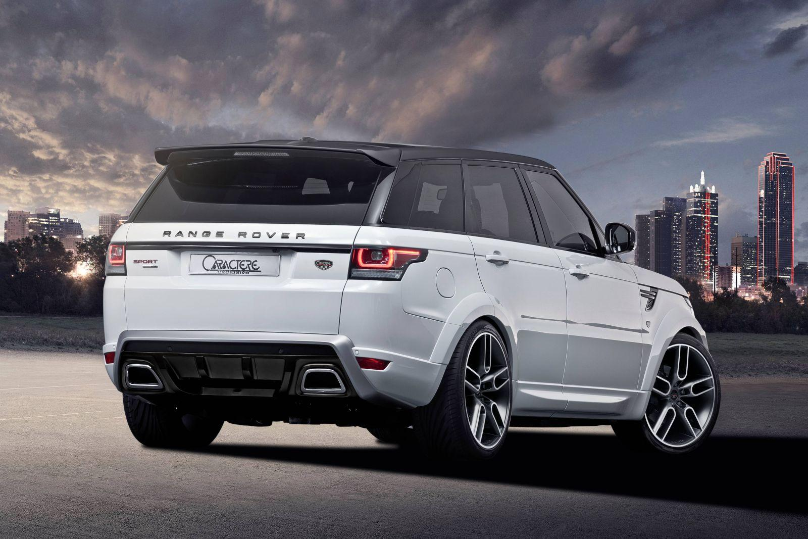 Caractere Exclusive Tweaks Range Rover Sport