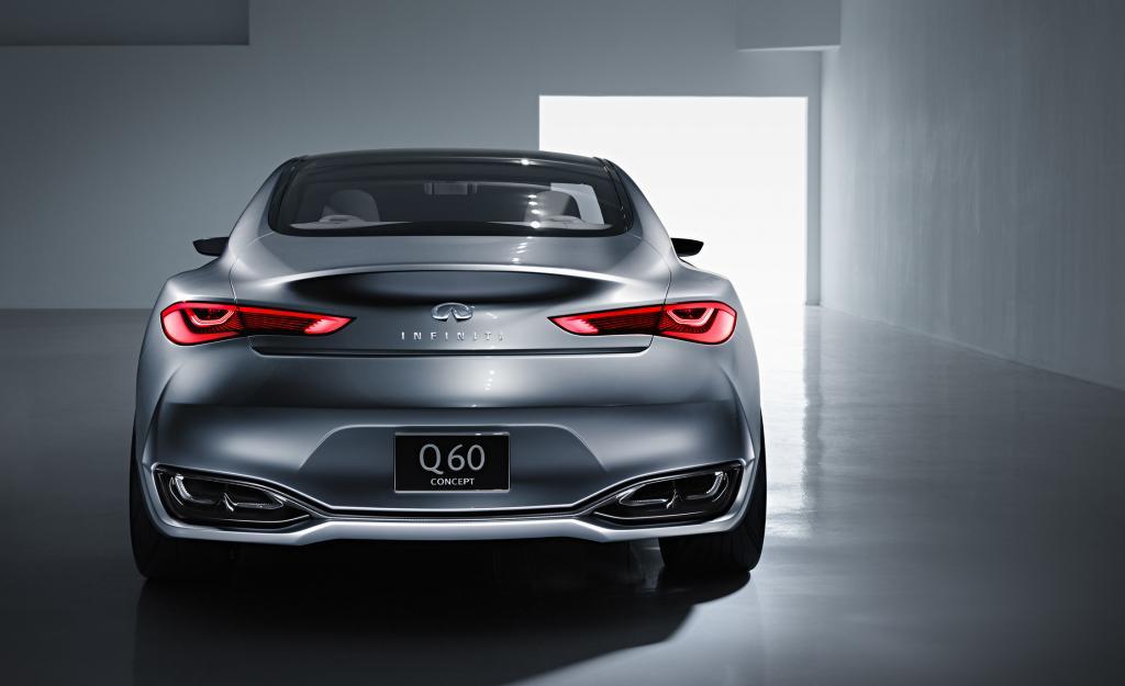 Infiniti Q60 Coupe Concept Rear