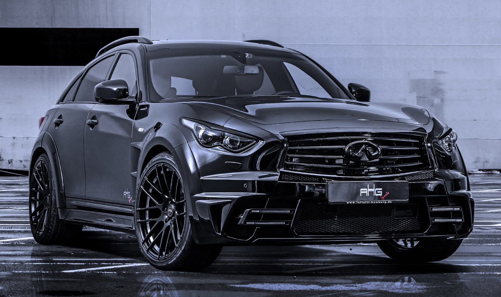 Black Qx70 >> AHG Sports tweaks Infiniti QX70 - ForceGT.com