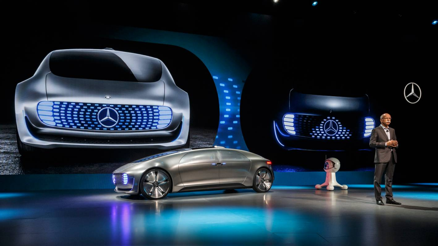 Toyota Of Alvin >> Self-Driving Mercedes-Benz F 015 Luxury in Motion ...