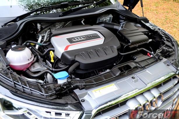 2015 Audi S1 Sportback TFSI engine