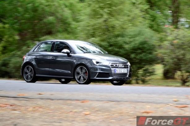 2015 Audi S1 Sportback front quarter rolling