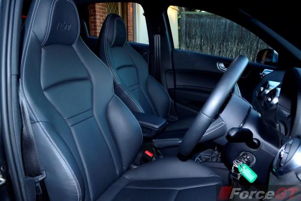 2015 Audi S1 Sportback sports seats