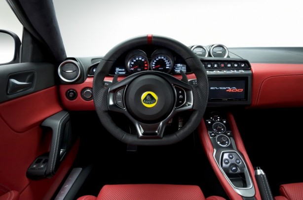 2015 Lotus Evora 400 dashboard