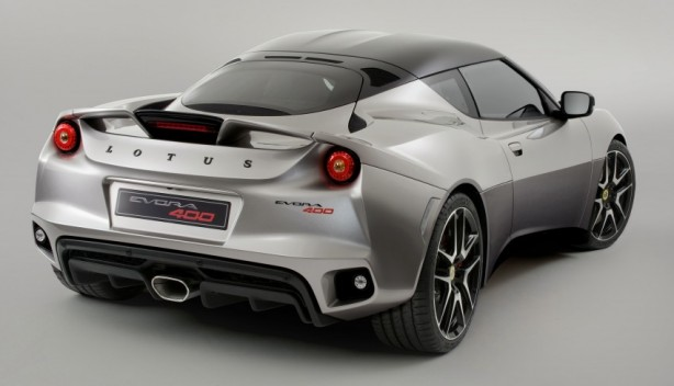 2015 Lotus Evora 400 rear quarter
