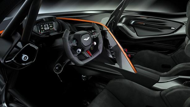 Aston Martin Vulcan dashboard
