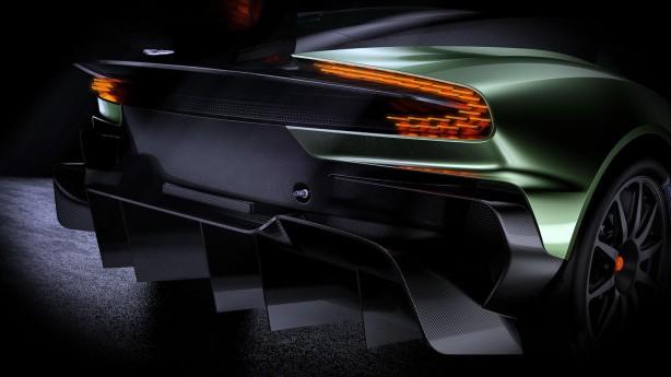 Aston Martin Vulcan rear diffuser