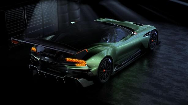 Aston Martin Vulcan rear quarter
