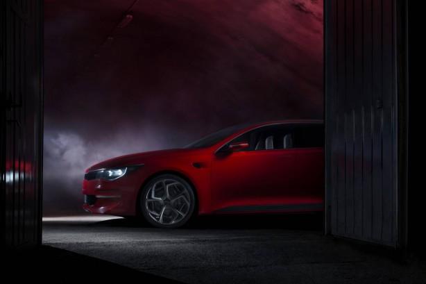 Kia 2015 Geneva show concept teaser