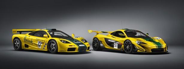 McLaren P1 GTR and McLaren F1 GTR chassis #06