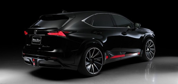 wald-lexus-nx-black-bison-bodykit-rear-quarter