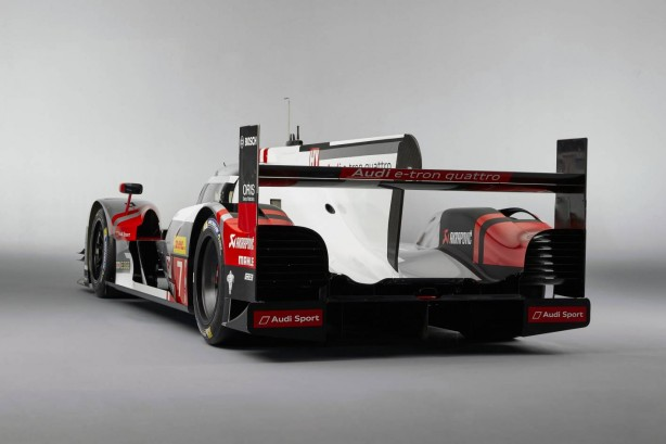 2015 Audi R18 e-tron rear quarter